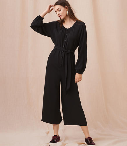 Lou & Grey Long Sleeve Jumpsuit
