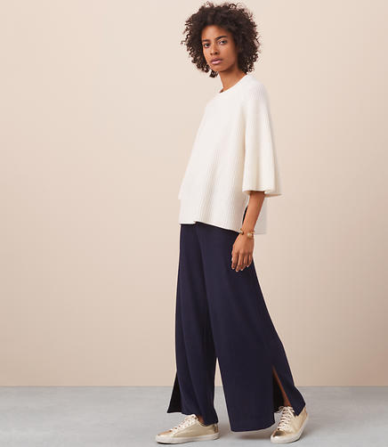 Lou & Grey Fab Cozy Wide Leg Pants