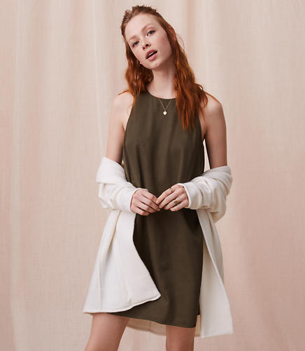 Lou & Grey Fluid Swing Dress