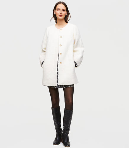 Tall Blouson Coat