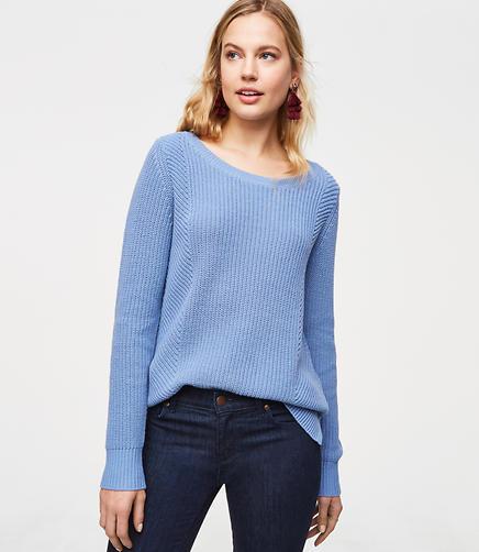 Mixed Rib Sweater