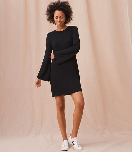Lou & Grey Signaturesoft Bell Sleeve Dress