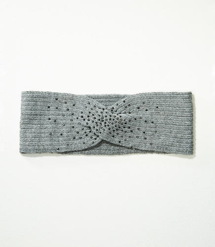 Embellished Twist Ear Warmer