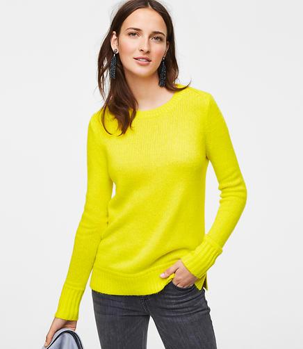 Petite Round Neck Sweater