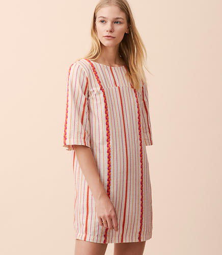 Lou & Grey Candy Stripe Dress