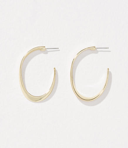 Modern Hoop Earrings