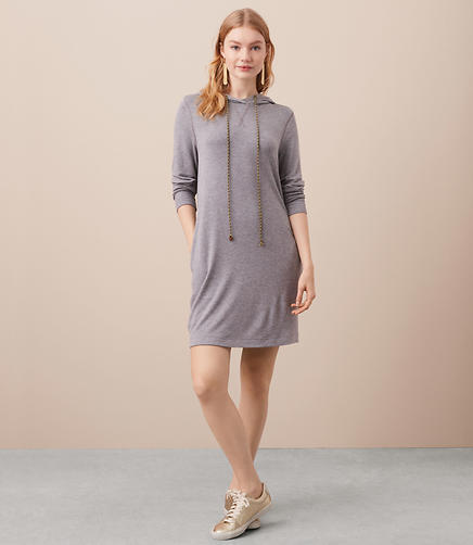 Lou & Grey Signaturesoft Hoodie Pocket Dress