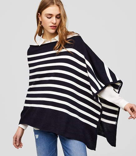 Nautical Poncho