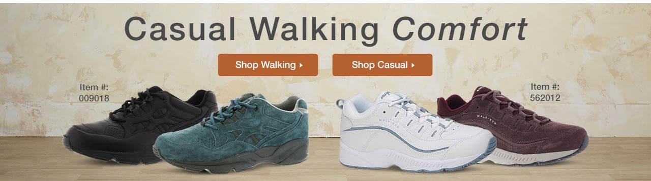 Casual Walking Comfort