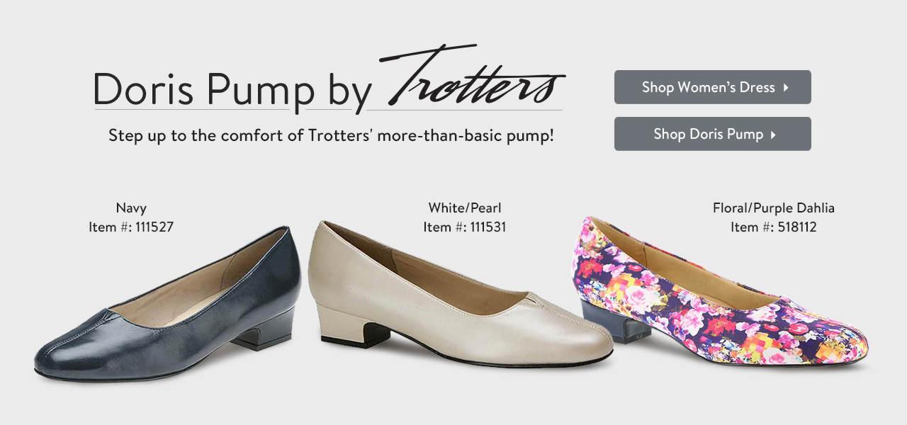 Shop the Doris Pump by Trotters