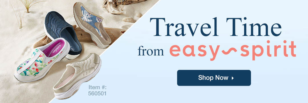 Travel Time From Easy Spirit - Shop Now