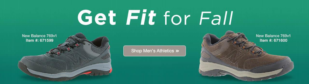 Get Fit For Fall - Shop Men's Athletics