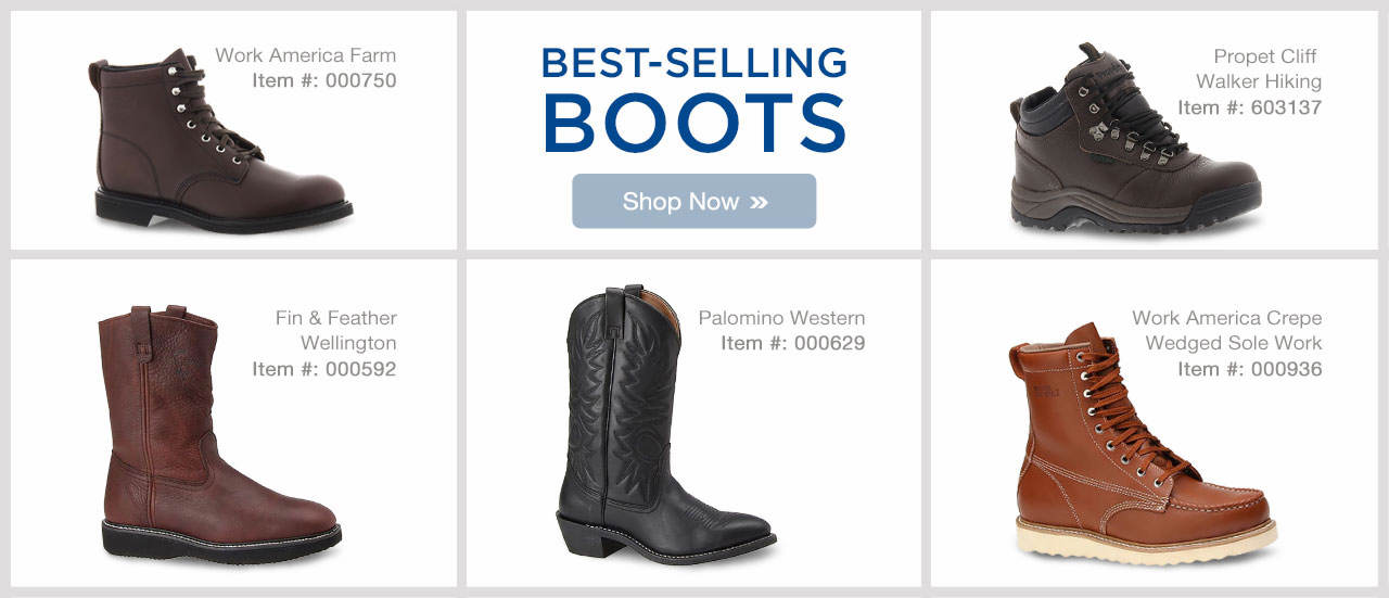 Men's Best-Selling Boots