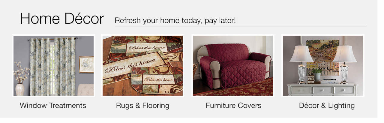 Refresh your home today, pay later - Shop Home Décor