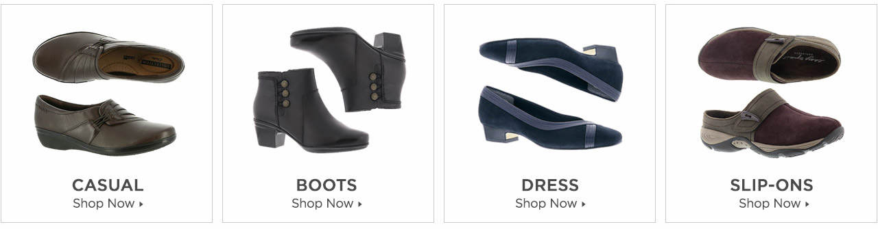 Shop Boots, Casuals, Dress and Slip-Ons