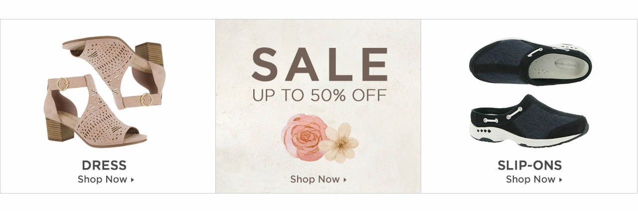 Shop Dress, Slip-Ons and Shoes on Sale