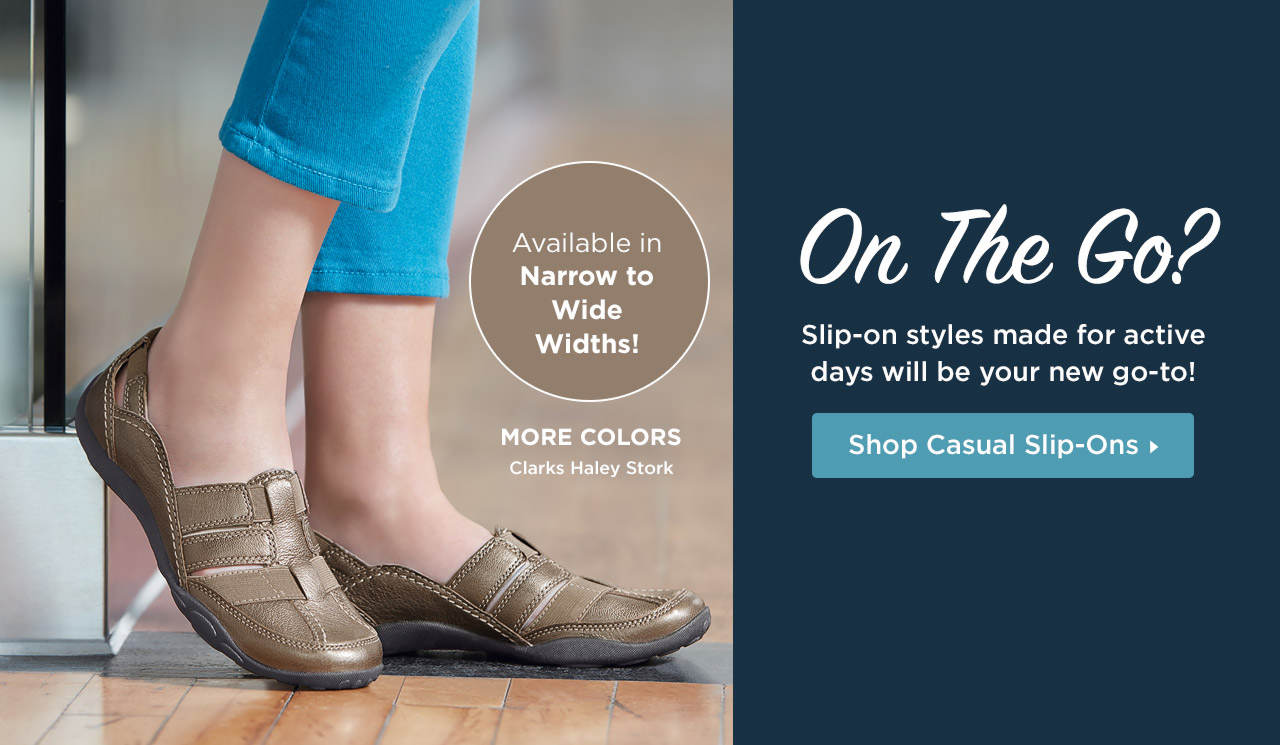 On the go? Slip-on styles made for active days will be your new go-to! Shop Now