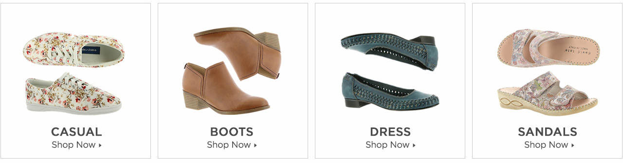 Shop Boots, Casuals, Dress and Sandals