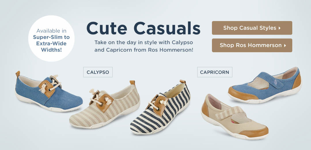 Cute Casuals - Take on the day in style with Calypso and Capricorn from Ros Hommerson! Shop Now