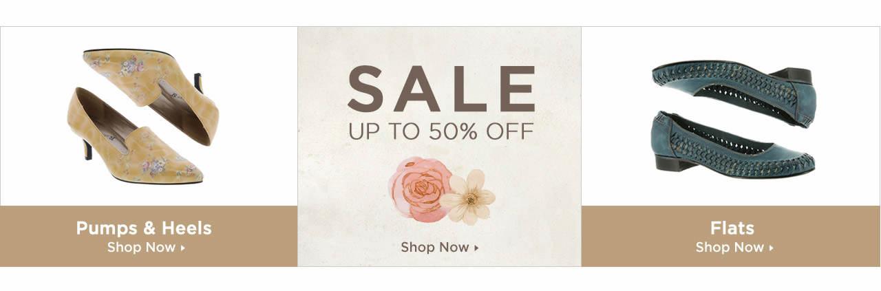 Shop Dress Pumps, Dress Flats and Dress on Sale