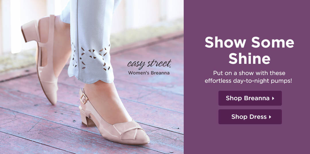 Show Some Shine - Put on a show with these effortless day-to-night pumps! Shop Now