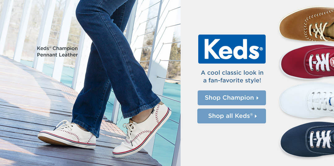 A cool classic look in a fan-favorite style from Keds! Shop Now
