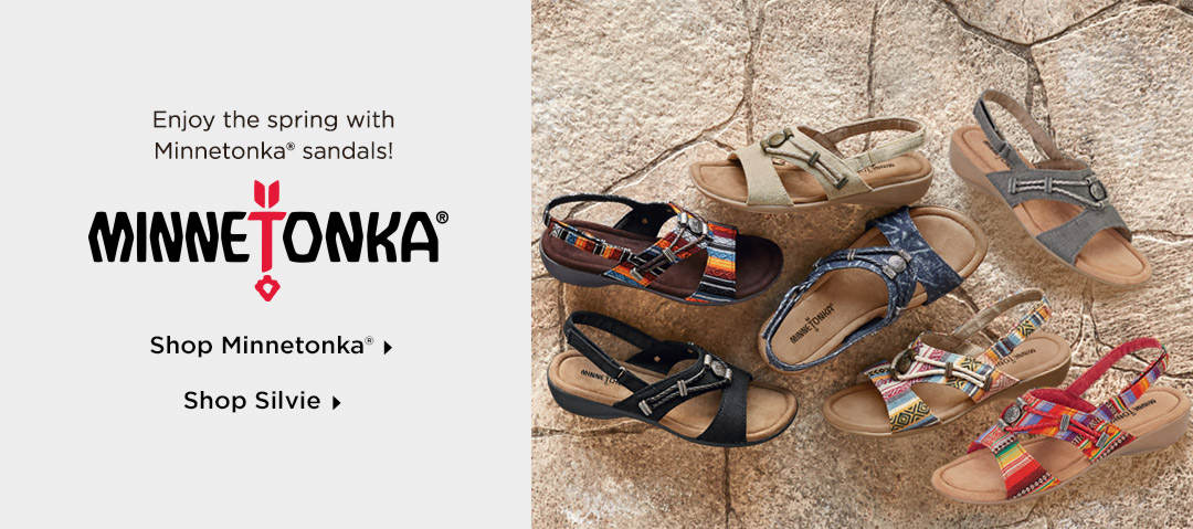 Enjoy the spring with Minnetonka sandals! Shop Now