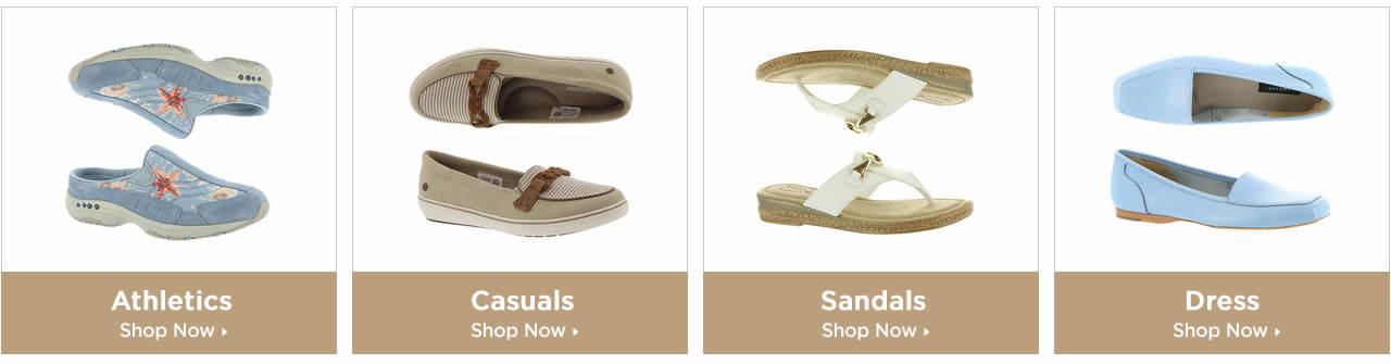 Shop Athletics, Casuals, Sandals and Dress