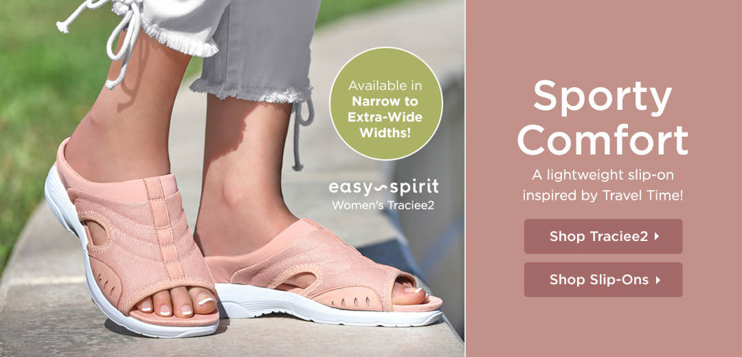 Sporty Comfort - A lightweight slip-on inspired by Travel Time! Shop Now