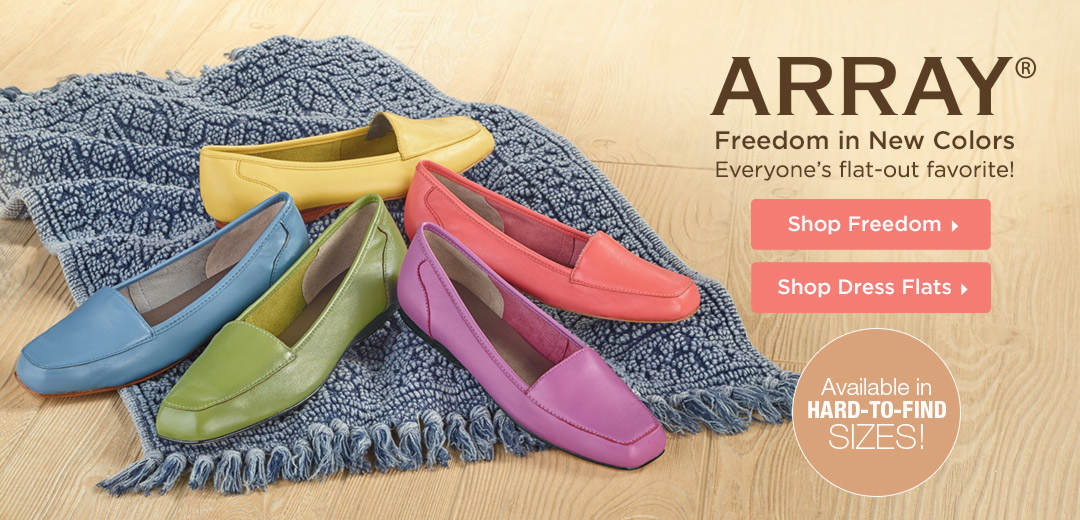 Shop Women's ARRAY Freedom Dress Flats and More!