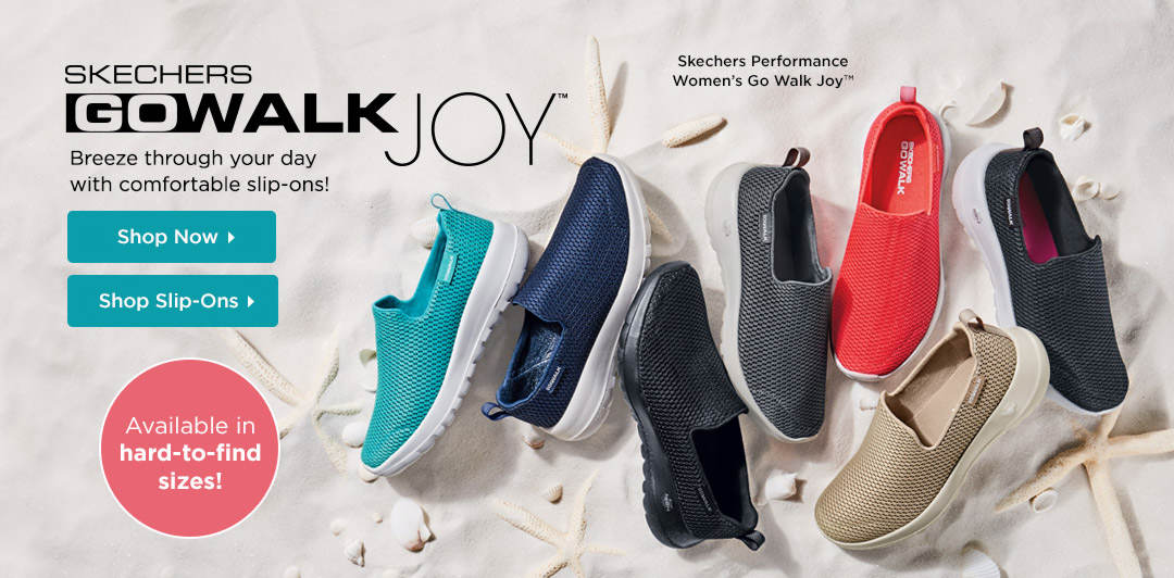 Skechers Performance Go Walk Joy™ - Breeze through your day with comfortable slip-ons. Shop Now