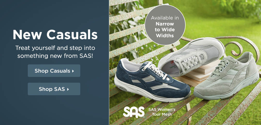 Treat yourself and step into something new from SAS! Shop Now