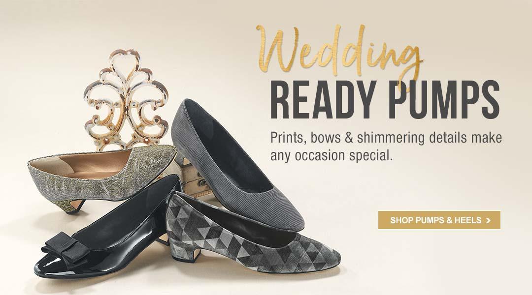 Wedding Ready Pumps - Shop Pumps & Heels