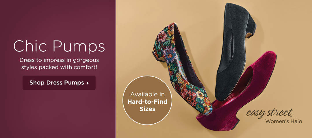 Chic Pumps - Dress to impress in gorgeous styles packed with comfort! Shop Dress Pumps