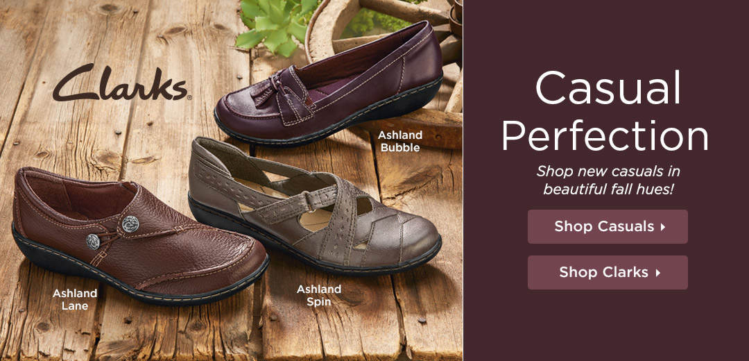 Casual Perfection - Shop new casuals in beautiful fall hues!