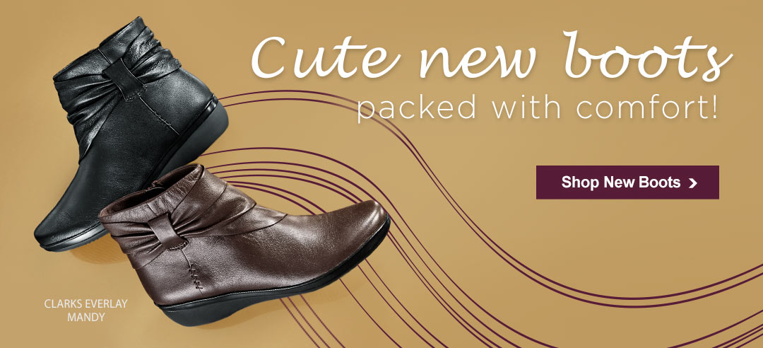 Trending In Fall - Ankle Boots In Fresh Colors With Fun Details. Shop Ankle Boots