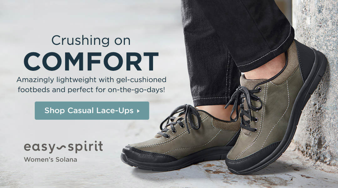 Amazingly lightweight and perfect for on-the-go days! Shop Casual Lace-Ups