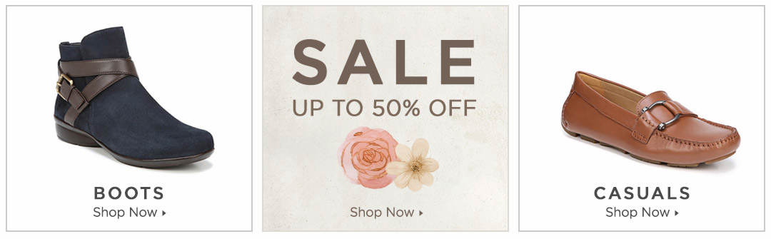 Shop Boots, Casuals and Shoes on Sale