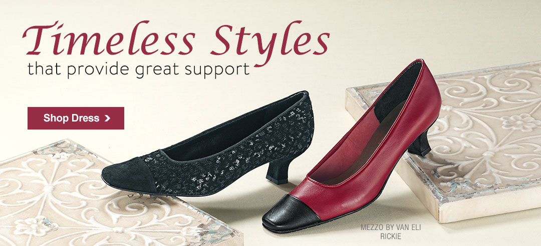 Timeless Styles That Provide Great Support - Shop Dress