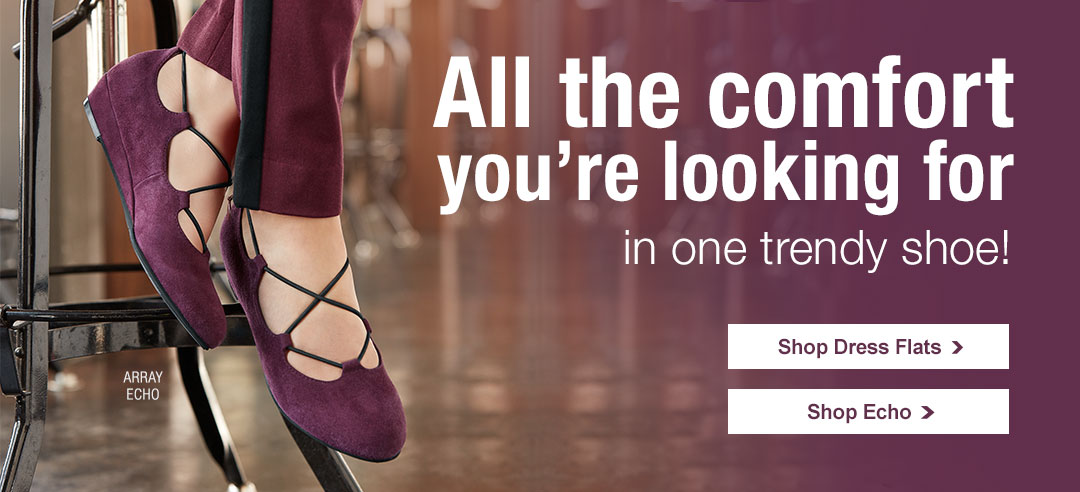 All The Comfort You're Looking For In One Trendy Shoe!