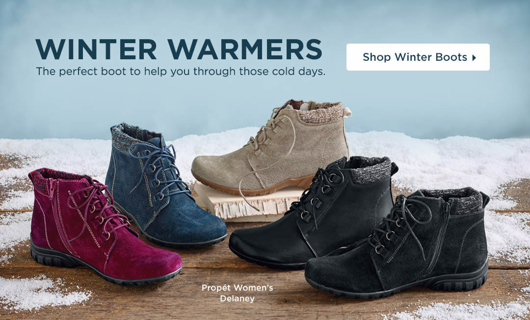 Winter Warmers - The perfect boot to help you through those cold days! Shop Winter Boots