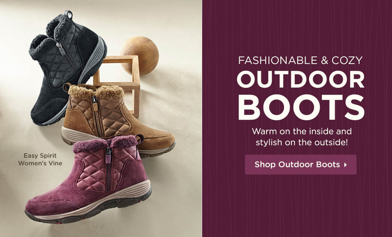 Fashionable and Cozy Outdoor Boots - Warm on the inside and stylish on the outside! Shop Now