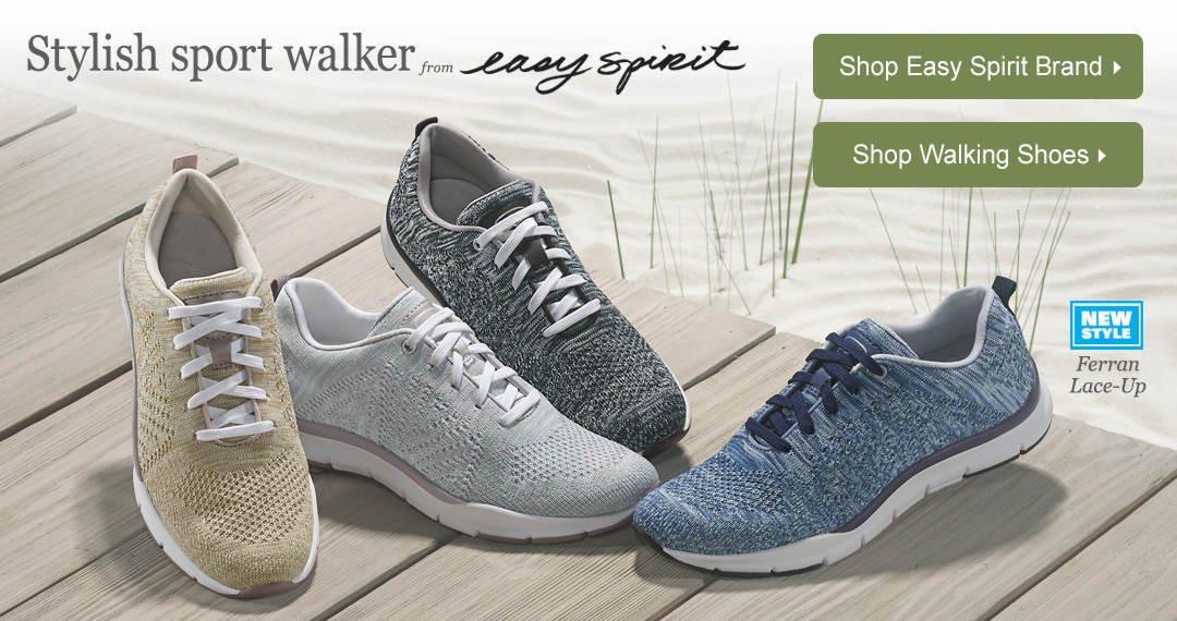 The Ferran Lace-up is a stylish sport walker from Easy Spirit.