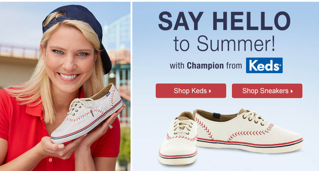 Say Hello To Summer With Champion From Keds
