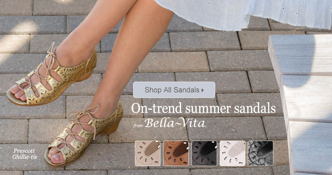 Shop on-trend summer sandals from Bella Vita; and many other famous brands.