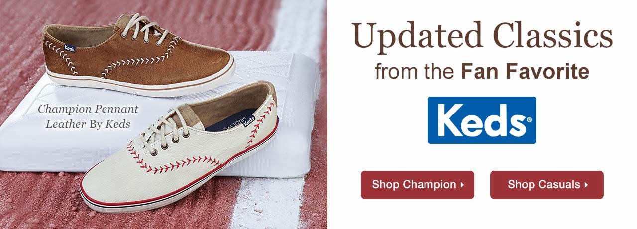 Champion Pennant Leather By Keds