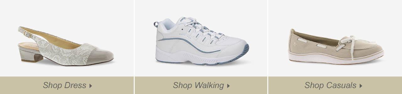 Shop Dress, Walking and Sandals