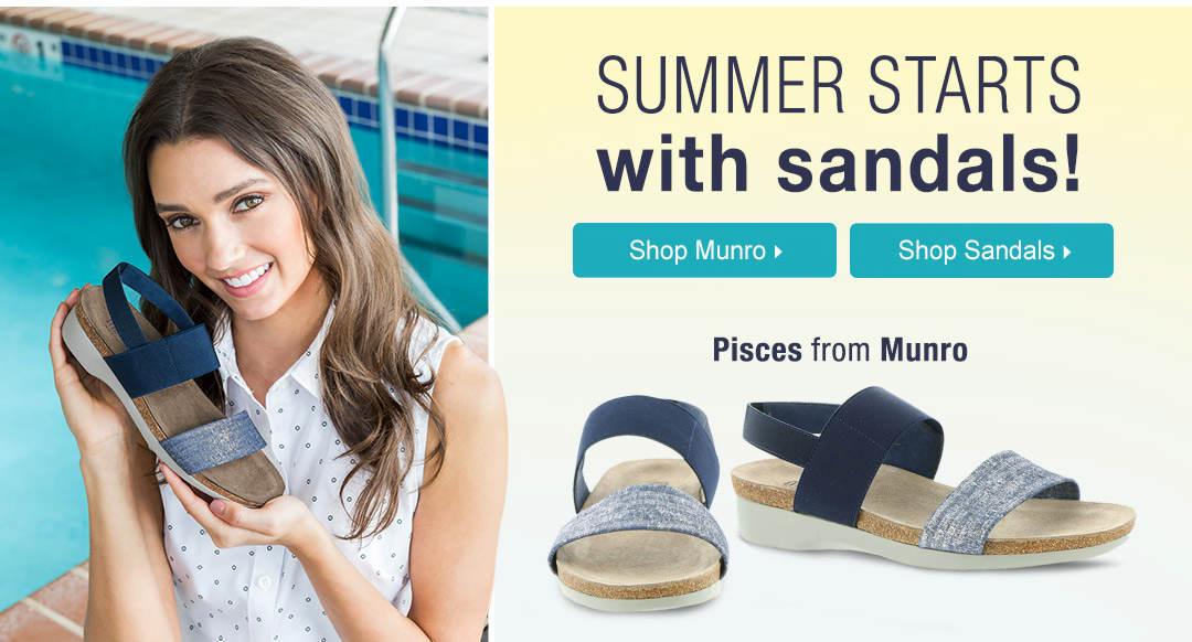 Summer Starts With Sandals!
