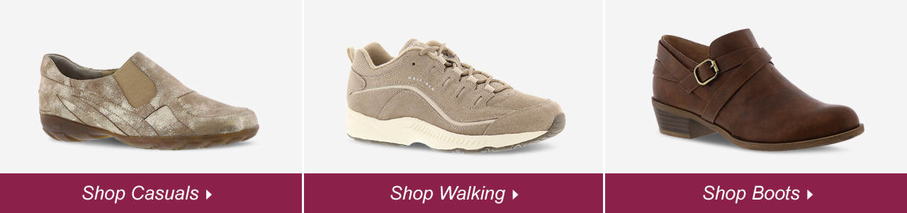 Shop Casuals, Walking and Boots