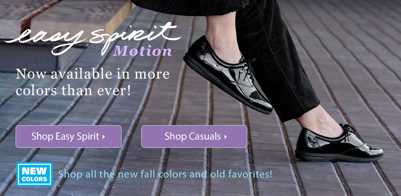 Easy Spirit Motion - Now Availble In More Colors Than Ever!